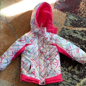 Pink platinum 3t winter jacket